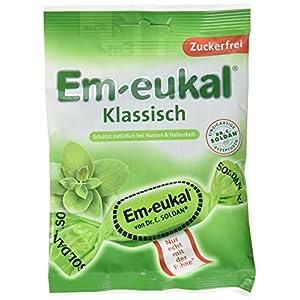 Em-eukal  Klassisch zuckerfrei , 10er Pack (10 x 75 g)
