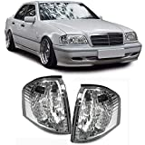 Carparts-Online 12220 Weiße Klarglas Blinker