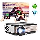 4000 Lumen LCD HD Android Bluetooth Projecteur LED Exterieur WiFi Vidéoprojecteur...