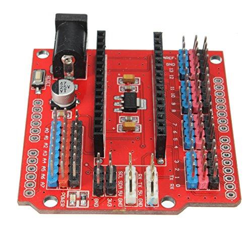 51%2Bq8u0px3L - WINGONEER® Expansion Prototype Shield Módulo de placa de extensión de E/S para Arduino Nano V3.0