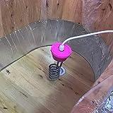 2500 W vasca da bagno vasca riscaldatore ad alta potenza scaldabagno linea standard europea linea 2 metri (Colore: giallo) (Dimensioni: 2m)