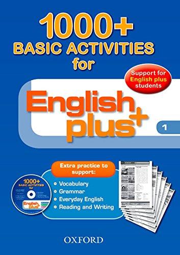 English Plus 1: Basic Activities 1000+