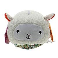 HuntGold 1X Soft Plush Mini Animal Bell Cloth Ball Developmental Baby Kid Toy Christmas Birthday Gift(sheep)