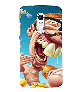 Laughing Cartoon 3D Hard Polycarbonate Designer Back Case Cover for Lenovo Vibe X3