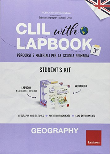 CLIL with lapbook. Geography. Terza. Student's kit (I materiali)