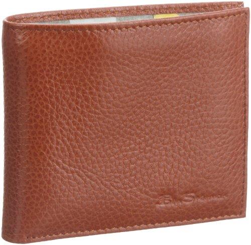 ben-sherman-billfold-wallet-mh00180-unisex-erwachsene-portemonnaies-braun-dark-tan-283-11x9x2-cm-b-x