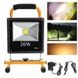 Hengda 20W LED Fluter Warmweiß Flood Light Wasserdicht IP65 Gartenleuchte Wandstrahler