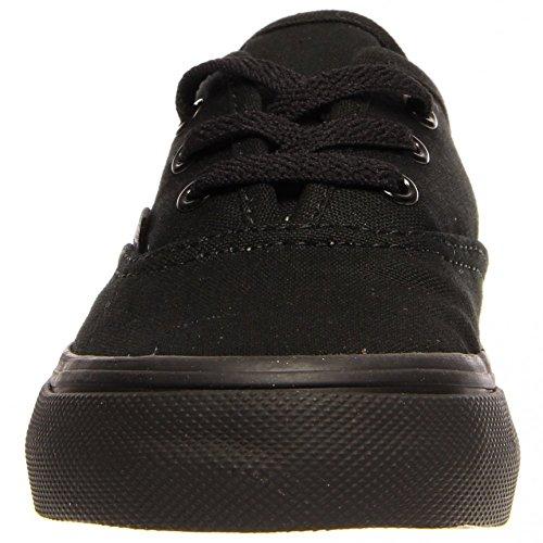 Vans T Authentic, Baskets mode mixte bébé noir/noir