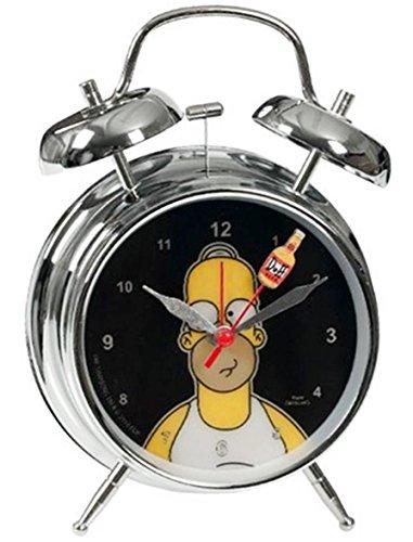 Despertador de los Simpsons Homer Simpson 17cm Metal