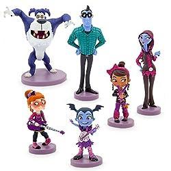 Disney Store Vampirina 6 Figure Figures Figurine Playset Set