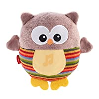 Fisher-Price Soothe and Glow Owl - Brown
