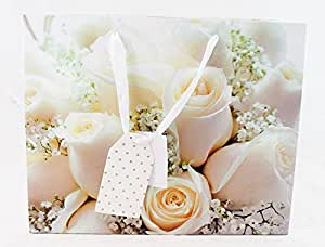 ... Roses Glitter Luxury Photo Gift Bag XL: Amazon.co.uk: Office Products