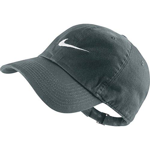 Nike Swoosh H86 - Blue Cappello, Cool Grey/White, Taglia Unica
