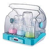 NAUY @ Esterilizador de biberones con Secado Multifuncional esterilización UV Vajilla de desinfección de Juguetes para niños Productos para el Cuidado del bebé (Color : Azul)