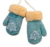 Guanti invernali a maglia per bambini
