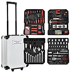 Werkzeugkoffer Trolley mit über 200 Teilen