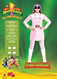 POWER RANGERS ~ Mighty Morphin Pink Power Ranger - Adult Costume Lady : SMALL