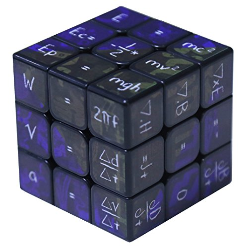 Lecc Würfel Würfel Von Rubik Magic Cube Mathematische Chemie 3X3x3 Amazing Halloween Monster Glatte Gehirn Smooth Speed Twisted 3D Puzzle Spiel,Black