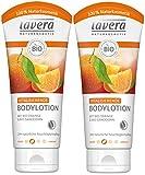 lavera Vitalisierende Bodylotion Bio Orange ∙ Intensive Feuchtigkeit ∙ Fruchtig frischer...