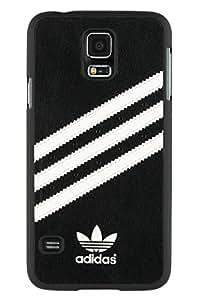 adidas 17204 Coque pour Samsung Galaxy S5 SM-G900F Noir/Blanc