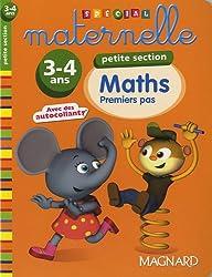 Maths petite section 3-4 ans : Premiers pas