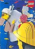 LEGO 260 - 50 seitiges Heft mit Bauanleitungen und einem Stickerbogen