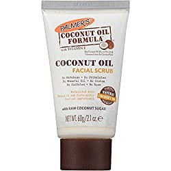 Palmers Coconut Oil Formula with Vitamin E Coconut Oil Facial Scrub, 2.1 oz