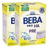 Nestlé BEBA PRO HA Pre, Säugling Milch, Babynahrung, HA Nahrung, Anfangsnahrung, 2 x 550 g,...