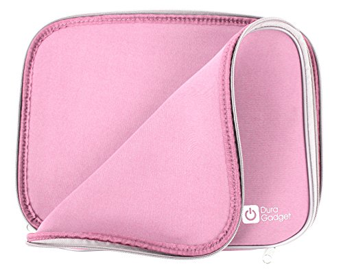 Auto-movie-player (Für 10.5 Zoll tragbarer DVD-Player von DBPOWER (PD102): Schutz-Case Transporthülle Tasche Sleeve in Rosa. Robust und wassersabweisend.)