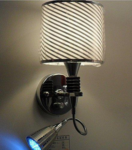 YFF@ILU Verkauf mit Preisnachlass Moderne LED-Maske gaze Nachttisch Wandleuchten Leuchten, Gang B