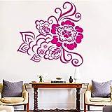 HNXDP Sticker Mural Fleur Décoration de La Maison Accessoires Pour Salon Vinyle...