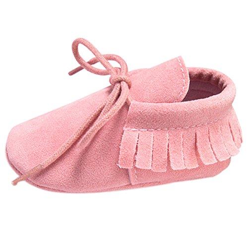 Etrack-Online  Baby Sneakers, Baby Jungen Lauflernschuhe Hellrosa