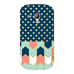 Cute Pattern Pastal Back Case Cover for Galaxy S3 Mini