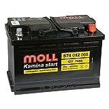 MOLL Kamina Start 574 012 068 12V 74Ah