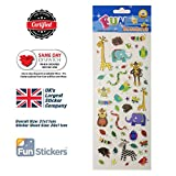 Brand New Fun Stickers Set Animal Characters 738