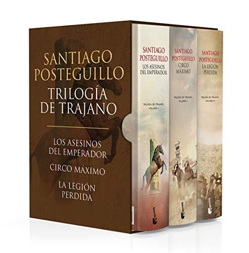 Estuche Trilogía de Trajano par Santiago Posteguillo