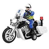 Motocicletta Elettrica Modello Veicolo Giocattolo Moto Giocattoli Auto Bambini Apprendimento Precoce Giocattolo Cognitivo con Poesia Storia, Musica, Luce e Autista Regalo per 3+Anni Ragazzo Ragazza