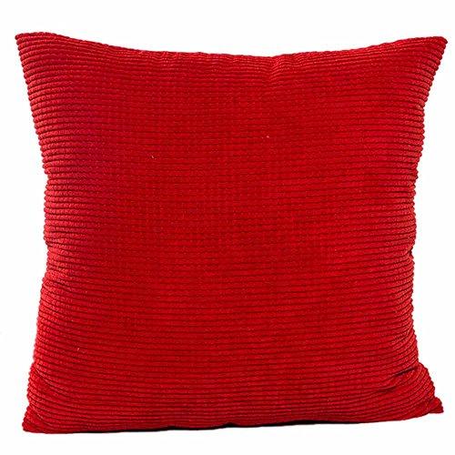 Dicomi Sofa Taille Kissenbezug Wurf Kissenbezug Home Decor Einzelne Farbe(45 X 45 cm)