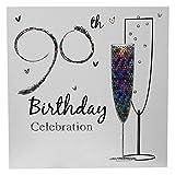 Zum 90. Geburtstag Party Einladungen mit Umschlägen (36Stück)