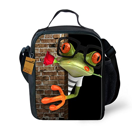 orrinsports-3d-print-insulated-lunch-bag-totes-keep-hot-and-cold-for-kids-rose-frog-by-orrinsports