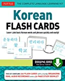 Korean Flash Cards Kit Ebook: Learn 1,000 Basic Korean Words and Phrases Quickly and Easily! (Hangul & Romanized Forms) (Downloadable Audio Included) (English Edition)