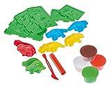 Simba 106326655 - Art & Fun Dino Knetset 4x50g 15-teilig