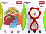 #9: Funskool Bear Teether With Funskool Sunflower Rattle, Colors May Vary ( Combo Pack )