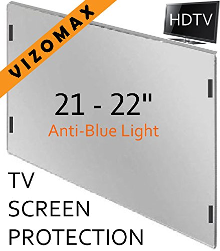 21 - 22 inch Anti-blue Light Vizomax Computer Monitor / TV Screen Protector Filter for LCD, LED & Plasma HDTV
