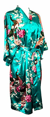 "CCCollections Kimono 16 colours ""premium version"" Peacock Premium Dressing Gown robe satin silk feel cosplay gift loungewear - 51 2BqalAXVZL - CCCollections Kimono 16 colours ""premium version"" Peacock Premium Dressing Gown robe satin silk feel cosplay gift loungewear"