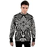 Killstar Okkult Unisex Pullover - Religious Matrix Thelema Sweatshirt Herren Damen