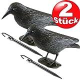 Taubenschreck Taubenabwehr Vogelschreck Vogelscheuche Rabe 1 – 12 Stück