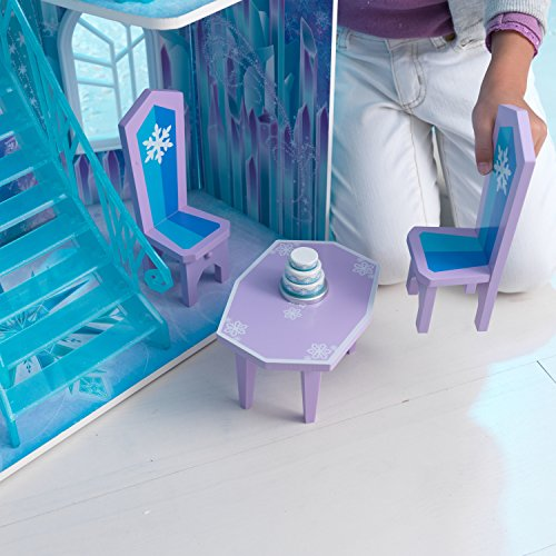 Elsa Eispalast: Eiskönigin Puppenhaus aus dem Film Frozen (inkl. Testbericht) - 9