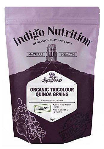 Chicchi di quinoa tre colori biologica - 1kg