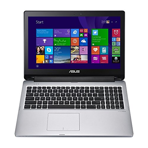 Asus TP550LD-CJ034H Notebook Flip, Display 15,6 Pollici HD, TouchScreen, Processore Intel Core i7-4510U, RAM 4 GB, Hard Disk 500 GB, Nero/Antracite